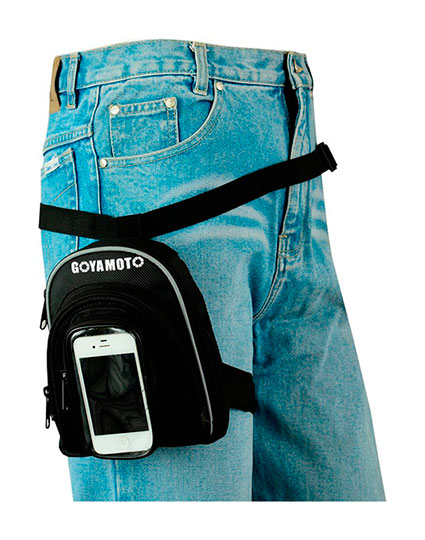 PIERNERA DE CORDURA CON BOLSILLO DE SMART PHONE