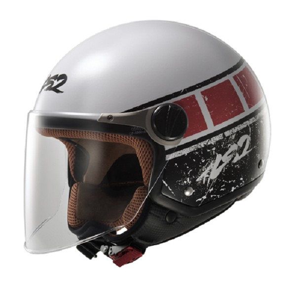 OF560 ROCKET II / ROOK WHITE-RED