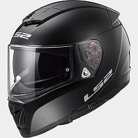 CASCO INTEGRAL DE POLICARBONO - LS2 -FF390 BREAKER SOLID  BLACK